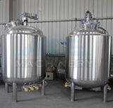 санитарный одностеночный смешивая бак 1000L сделанный нержавеющей стали 304 (ACE-JBG-W7)