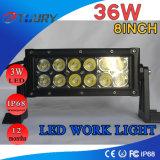 Luz auto del trabajo de la luz de conducción de la lámpara LED del CREE LED 36W 4WD LED