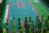 Aufhebung-Montage-Fußboden, Basketball-/Federballplatz-Fußboden, ältere Freizeit-Erdgeschoss, Qualitäts-blockierenfußboden, Plastikfußboden