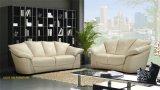 Sofá moderno luxuoso do couro do lazer da mobília no hotel (L021)