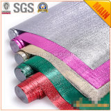 Prodotto non intessuto laminato pellicola metallica per il sacchetto che fa materiale