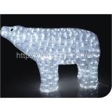 Urso de luz LED férias Motif, diodo emissor de luz de Natal