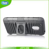 Moto G4のためのTPU+Plasticの携帯電話の箱