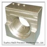 CNC bewerkte Deel machinaal van 6063 Materiaal Aangepaste Ingestemde die met Specificaties wordt gemaakt