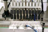 Llenador automático del agua que hace espuma y empaquetadora