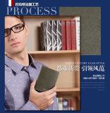 جديدة تصميم [هيغقوليتي] جلد محفظة رجال عامة تصميم محفظة