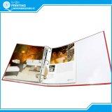 Fabbricazione di stampa dello scomparto e dell'opuscolo del libro del catalogo