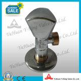 Soupape de cornière sanitaire plaquée passée au bichromate de potasse par laiton (YD-E5026)