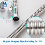 Mangueira flexível ondulada da tubulação do aço inoxidável do metal
