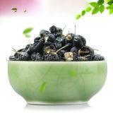 Bacca secca rossa Wolfberry nero organico di Goji della nespola