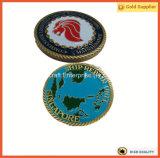 Moneta collettiva commemorativa 2016 del metallo di produzione del Manufactory (JINJU16-037)