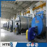 Chaudière de gas-oil de série de Wns avec des éléments de transfert thermique de haute performance
