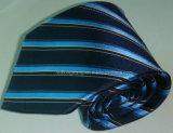 Cravate de piste de jacquard tissée par soie d'hommes