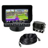 O GPS monitora 4CH entrado com a câmera impermeável de IP69k