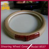 Buon coperchio materiale del volante dell'automobile di prezzi competitivi PU+Wooden