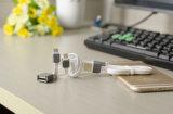 Cable de carga rápido del USB de la sinc. de los datos del precio de fábrica