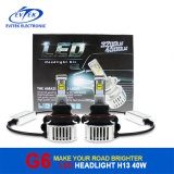 China Whole Sale 6000k Car LED Light 40W 4500lm H13 LED Headlight mit Fast Shipping