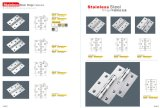Good Priceのステンレス製のSteel Door Hinge