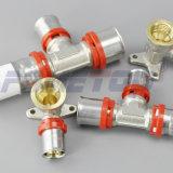 Pex 알루미늄 Pex 관을%s 토륨 유형 금관 악기 압박 이음쇠