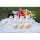 Dome LidのカスタムPrinting Ice Cream Paper Cup