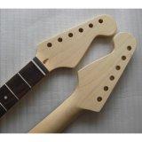 Custom 22 Fret encargo de arce canadiense Guitarra eléctrica del cuello
