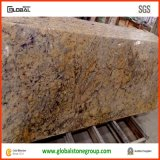 Controsoffitti di cristallo dorati del granito di qualità con il Bullnose