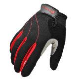 Guante de ciclo del Lleno-Dedo de los deportes al aire libre del guante del guante unisex de la motocicleta