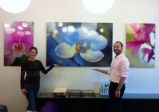 キャンバスガラス木製フレームの壁の芸術の絵画インクジェット・プリンタ