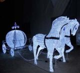 4V IP54 Sculpture Light Horse avec RoHS approuvée par CE