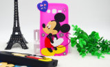 Karikatur 3D Mickey Silikon-Handy-Fall für iPhone Fall (XSD-024)