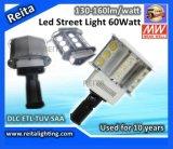 El CE RoHS de Dlc ETL SAA TUV C-Hace tictac luz de calle de 60W LED