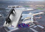 Piastra frontale dell'acciaio inossidabile & telefono Vandalo-Resistenti di emergenza del telefono Knzd-07A del tasto del metallo