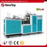 El PE semiautomático del doble de la máquina del tazón de fuente de papel (DB-2B70)
