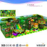 De BinnenSpeelplaats van kinderen van de Grote Speelplaats van het Pretpark Oft
