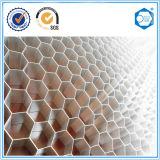 Noyau en nid d'abeille pour mur-rideau