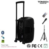 CER Proved 12 Inches Plastic Trolley Stage Speaker mit Battery