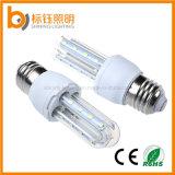 La transmitancia alta del bulbo de la cubierta de la lámpara LED de maíz 'U' en forma de Pantallas 5W 450LM PF> 0.9 LED lámpara ahorro de energía