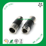 Elektronisches Connector CATV Compression Connector für Rg11 Coaxial Cable
