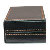 Коробка упаковки CB-006 подарка Cufflinks PU способа кожаный