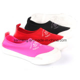 Casual Kids Footwear / Slip-on Shoes avec semelle en caoutchouc (SNC-021082)