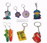 Pvc Toy Keychains van SOFT van de douane 3D en pvc Keychain Making Machine