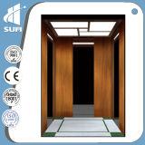 Ascenseur de passager de la vitesse 1.5m/S d'acier inoxydable