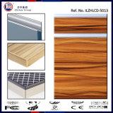 紫外線光沢度の高いMDFの木製の穀物の食器棚のドア