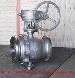 API 150lb Válvula de esfera de aço inoxidável / aço fundido com flange