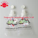 Fastfood- Plastikbeutel mit Tülle für Flüssigkeit der Reinigung-2L