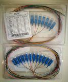 12f tresse optique de fibre du SM 0.9mm de Sc UPC