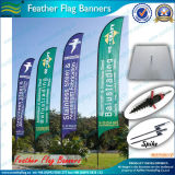 Знамена флага пляжа летания и флаги пера (M-NF04F06023)