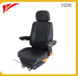 Sedile del conducente del bus di sospensione aria di lusso con cintura di sicurezza a 3 punti