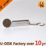 1-128GB 주문 Laser 조각 로고 금속 USB 지팡이 (YT-1248)