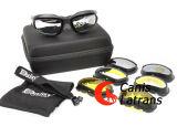 Gänseblümchen-taktische Gang-Schießen-Sicherheits-Schutzbrillen Cl8-0003